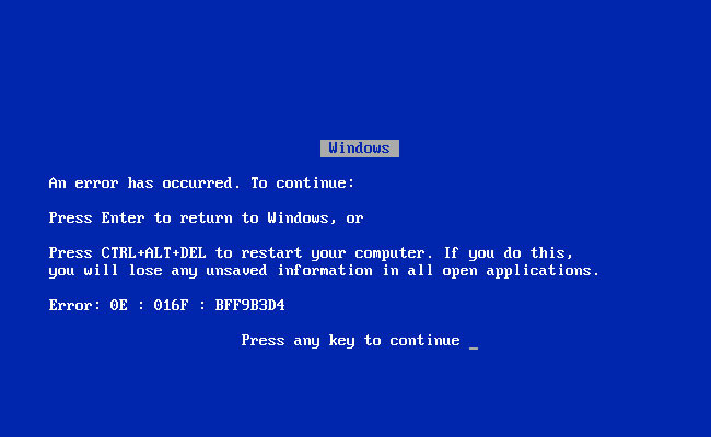 bsod-windows-95